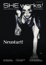 Neustart! – Das SHE works! Magazin im Oktober 2020