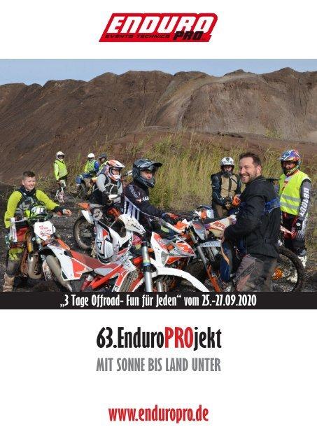 """63. EnduroPROjekt """"3 Tage Offroad- Fun für Jeden"""""""
