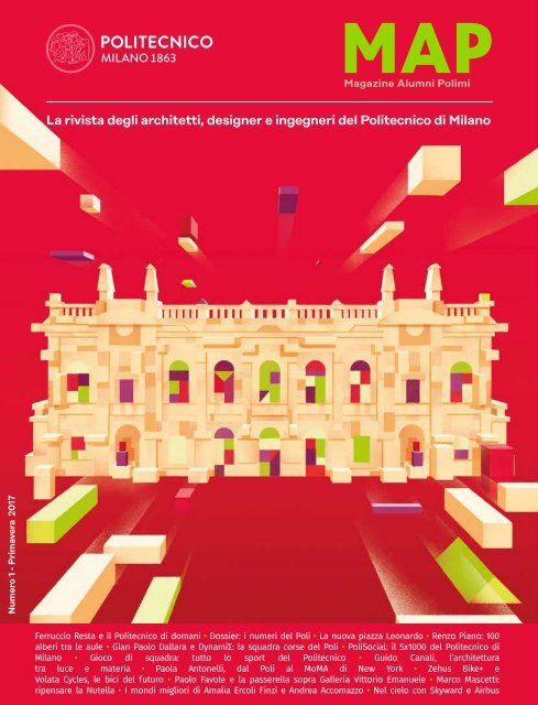 MAP - Magazine Alumni Politecnico di Milano #1