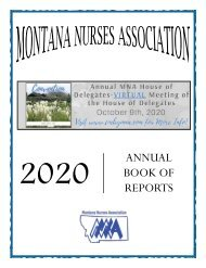 Montana - October 2020
