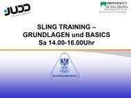 9 Sling Übungen - Judo Landesverband Salzburg