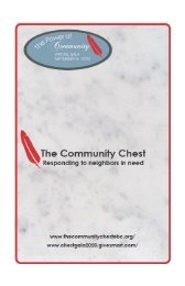 Community Chest 2020 Journal (New)
