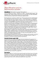 Gemeindenachrichten 10.02.2012 - Gemeinde Schüpfheim