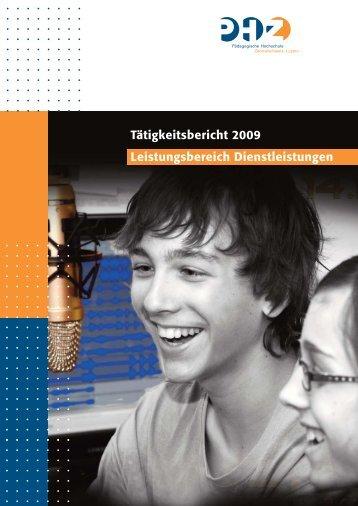 Tätigkeitsbericht 2009 - PHZ Luzern