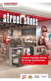 Unsere trendige Marke für junge Schuhmode. - Kienast