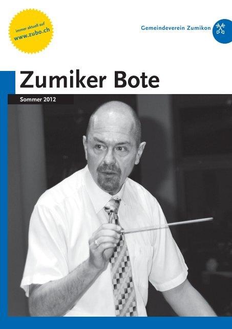 PDF – ZUBO-Broschuere – Sommer 2012 - Zumiker Bote