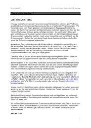 Elternrundschreiben März 2006 - Verein Beruf und Kind eV