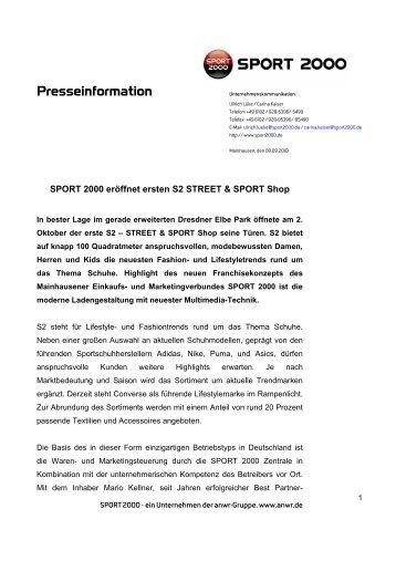 Presseinformation - Sport2000