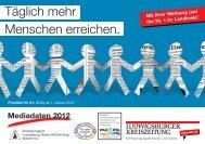 Mediadaten 2012 - Ludwigsburger Kreiszeitung