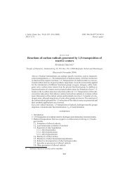 Reactions of carbon radicals generated by 1,5 ... - doiSerbia