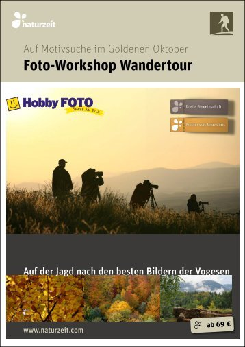 Foto-Workshop Wandertour - naturzeit blog