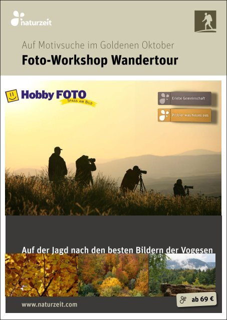 Foto-Workshop Wandertour - naturzeit blog