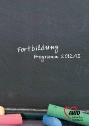 Fortbildungsprogramm - Liga der freien Wohlfahrtspflege in Baden ...