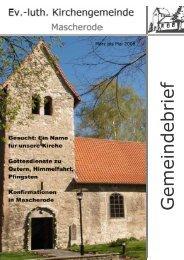 März bis Mai 2008 - Kirche Mascherode