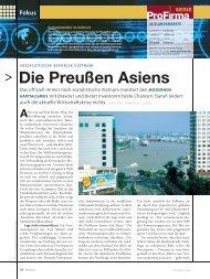Fokus Die Preußen Asiens - Axel Mierke