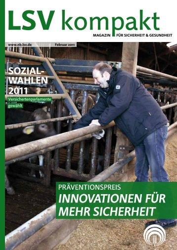 LSV kompakt Februar 2011 - Die Landwirtschaftliche ...