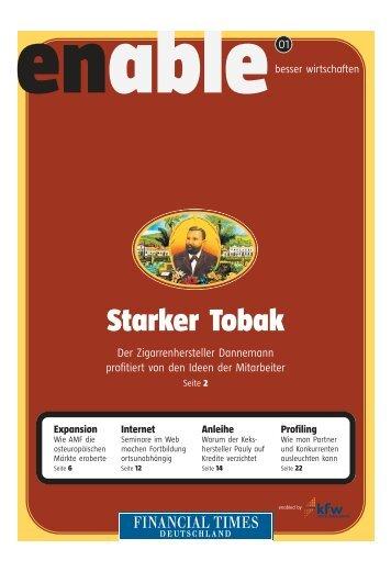 Starker Tobak - Financial Times Deutschland