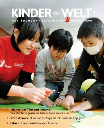 Rennt, der Tsunami kommt! - Save the Children Deutschland