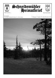 Urlaub im Pommern - Zentrum - Heimatkreis Schneidemühl