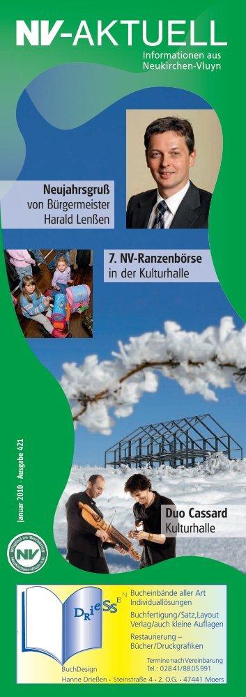 Januar 2010 - Werbering Neukirchen-Vluyn