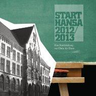 Start HanSa 2012/ 2013 - Hansa-Gymnasium Köln