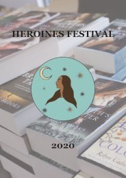 Heroines Festival Book Month Program