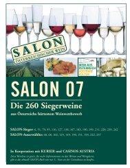 SALON-Sieger - Österreich Wein