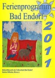 Ferienprogramm 2011 - Bad Endorf