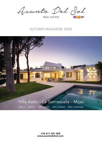 Asunto del Sol Autumn Winter 2020