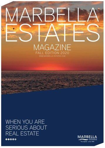 Marbella Estates Autumn Winter 2020