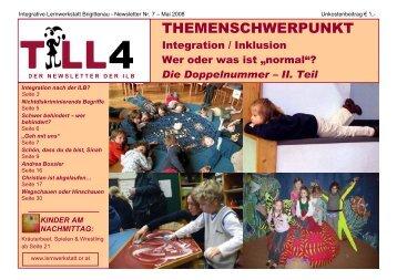 kinder am nachmittag - Lernwerkstatt Brigittenau