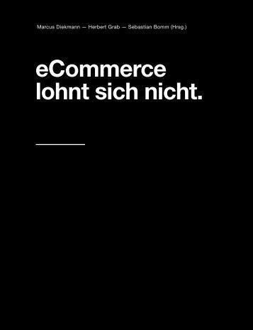 eCommerce lohnt sich nicht.