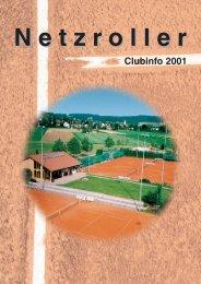 Netzroller Clubinfo 2001 - Tennisclub Wiesendangen