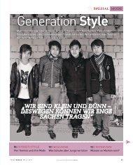 Generation Style - FOCUS MediaLine