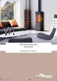 ATTIKA Preisliste AT-d 2011/2012 - Vilcek.sk