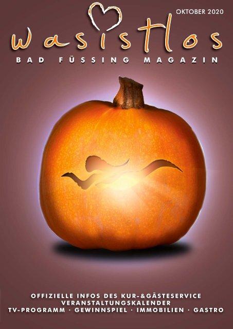 Was ist los Das Bad Füssing Magazin Oktober2020