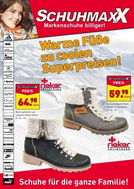 Schuhe für die ganze Familie! - Schuhmaxx