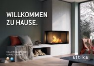 Attika Katalog : Kamineinsätze Holz & Gas 2020/2021