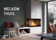 Attika Catalogus : Haarden hout & gas 2020/2021