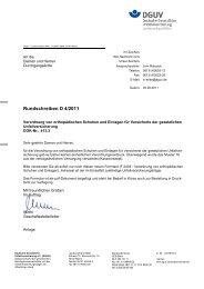 Verordnung von orthopädischen Schuhen und Einlagen für