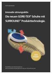 Die neuen GORE-TEX® Schuhe mit SURROUND ... - trndload