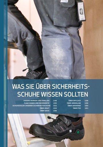WAS SIE ÜBER SICHERHEITS SCHUHE WISSEN ... - Germanex