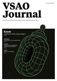VSAO JOURNAL Nr. 5 - Oktober 2020