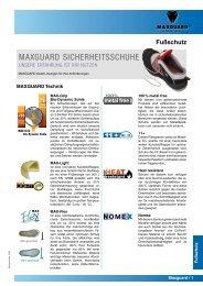 MAXGUARD SICHERHEITSSCHUHE - arbeitsschutz-online.de