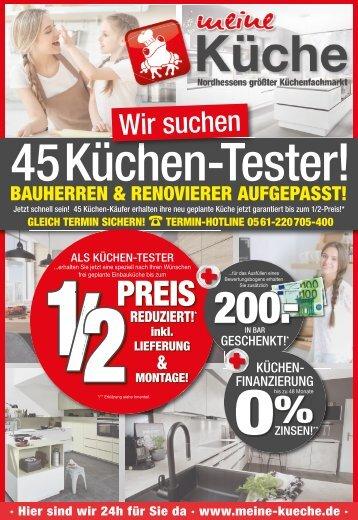 Meine Küche in Kassel sucht Küchentester