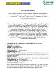 AWMF-S2k-Leitlinie_ Chronischer Pruritus_ Version ... - Arztbibliothek