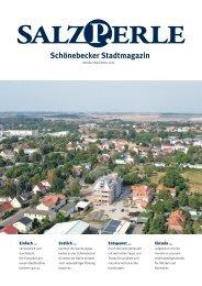 SALZPERLE - Stadtmagazin Schönebeck (Elbe) - Ausgabe 10+11/2020