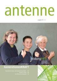 Zeitung als pdf - Katholisches Bildungswerk der Diözese St.Pölten