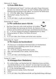 """81) Mitmach-Theater mit """"Clown Dotterine"""" - Landau an der Isar"""