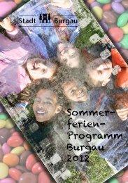 Sommer- ferien- Programm Burgau 2012 - Stadt Burgau
